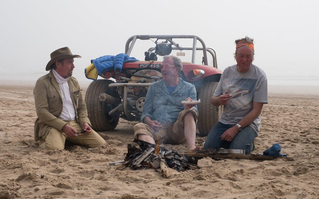 Prepare for carnage: Jeremy Clarkson fires up The Grand Tour Amazon TV show on 18 November