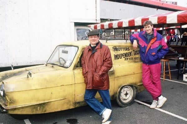 What was the engine size of the Reliant Regal in Only Fools & Horses?