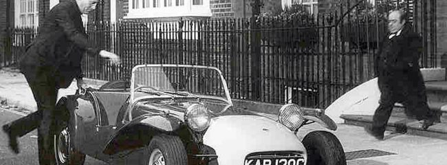 Lotus Seven and Patrick McGoohan