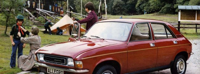 What was the weirdest feature of the Austin Allegro?