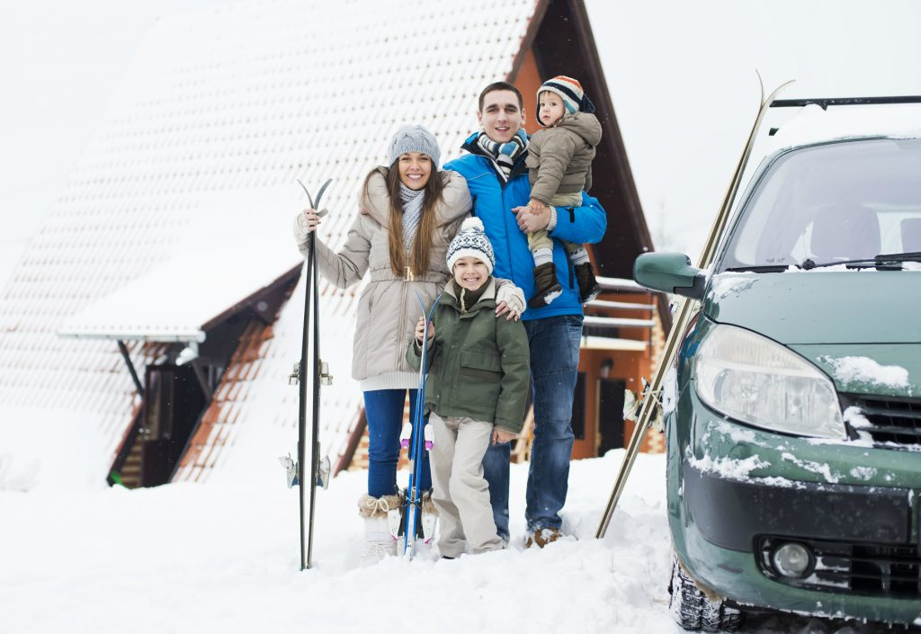 How to pack your car for a self-drive ski holiday