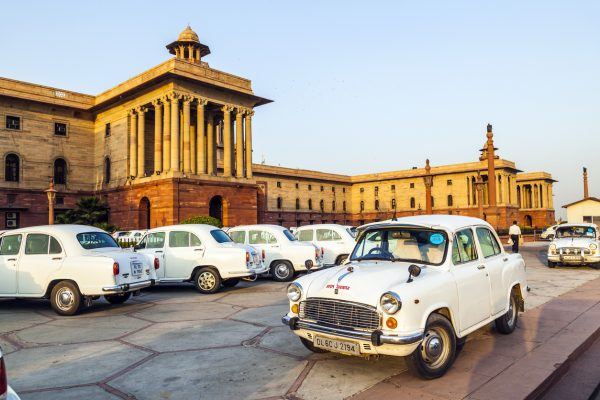 Hindustan Ambassador was developed from the Morris Oxford