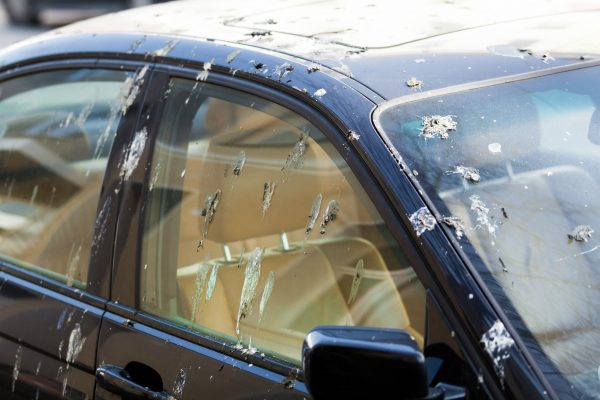 Which country considers it lucky to have bird droppings on a car?