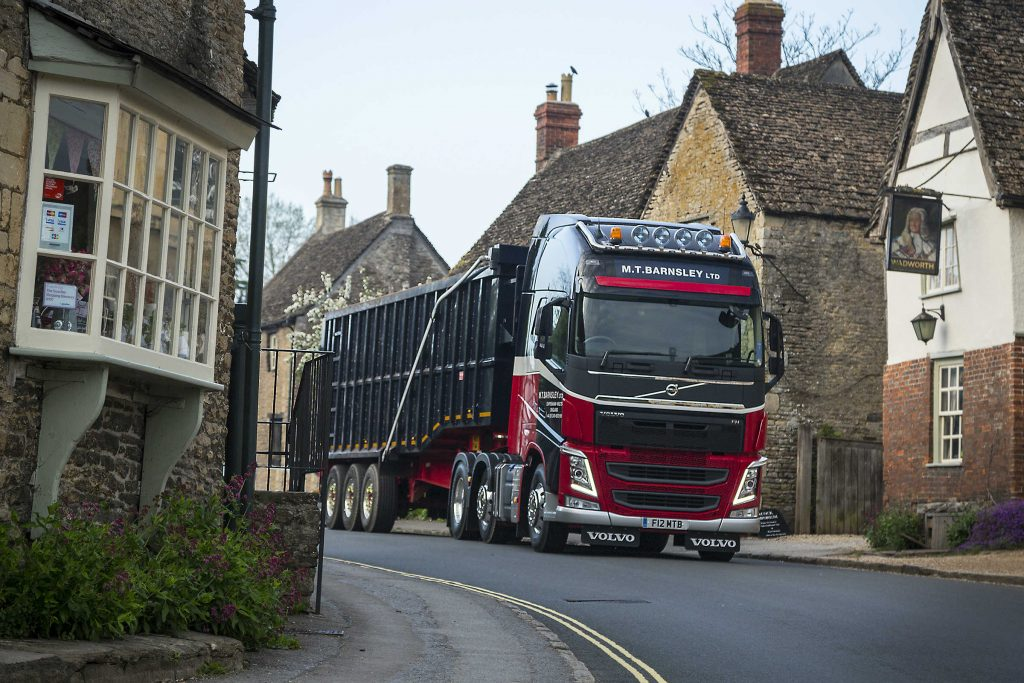 How much can an HGV driver see?