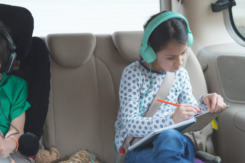Are we there yet Helpful ways to keep kids entertained on a long car journey 4