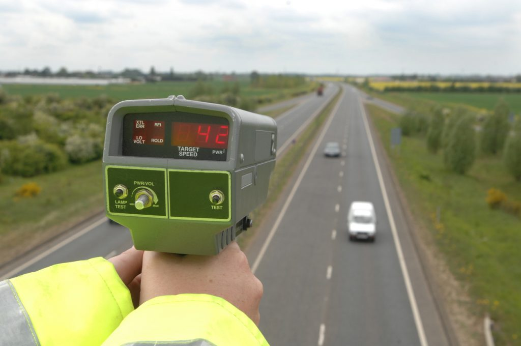 Speed awareness course