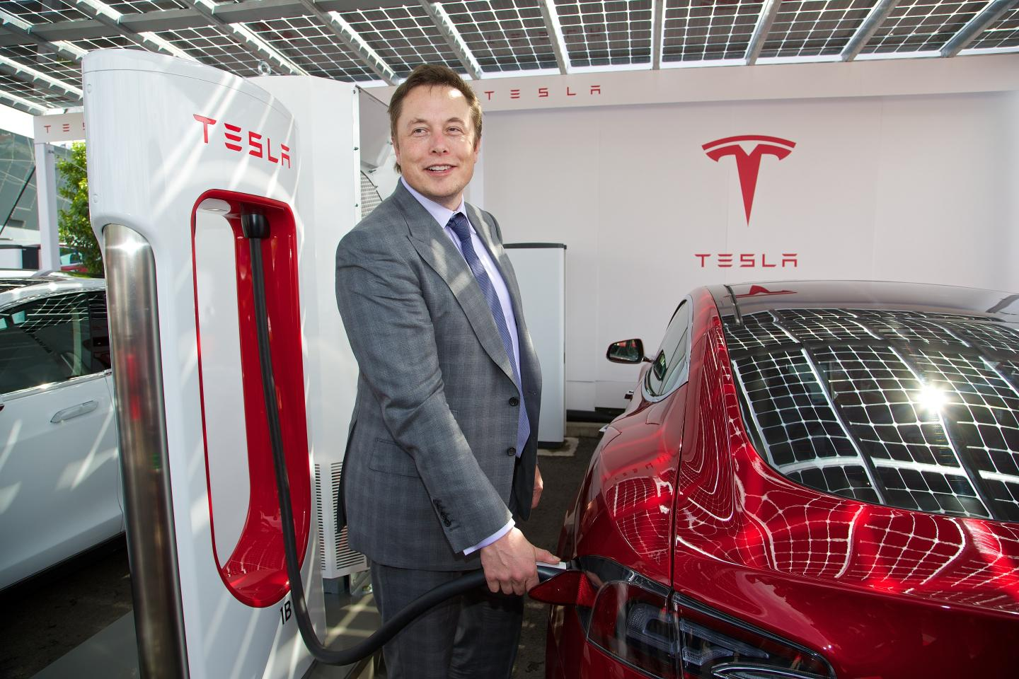 How did Elon Musk make his fortune before investing in Tesla?