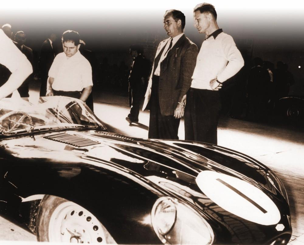 What was the landmark British car designed by Malcolm Sayer?