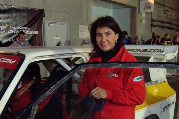 She's one of the fastest drivers to compete in the World Rally Championship but what's her name?