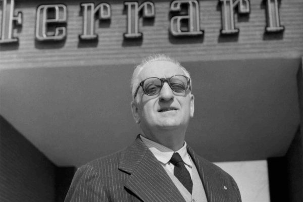 Which car did Enzo Ferrari name in memory of his son, Alfredo?