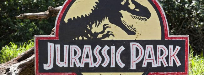 Which 4x4 was chased by a T-Rex in Jurassic Park?
