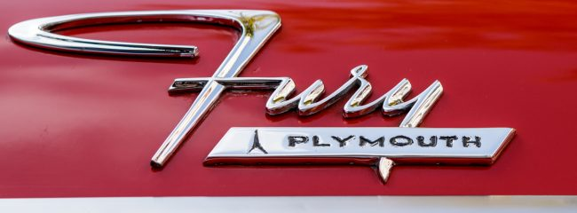 Which horror movie, based on a Stephen King novel, featured a Plymouth Fury?