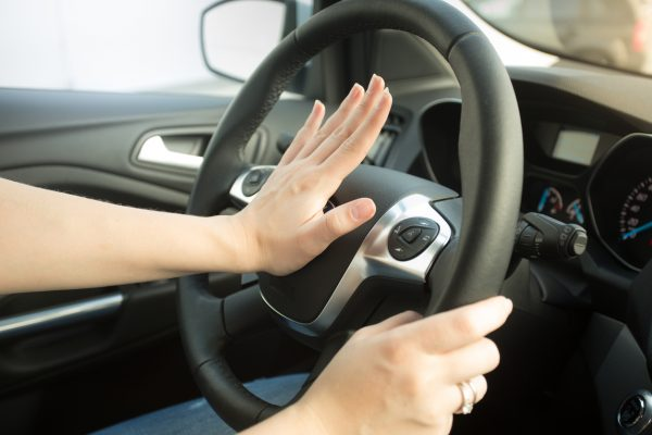 It is illegal to sound a car horn between 11.30pm and 7.30am
