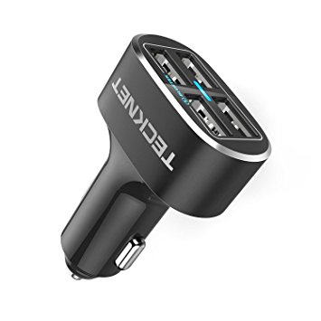 Christmas gift guide for drivers 2017, Teknet multi-port USB car adapter
