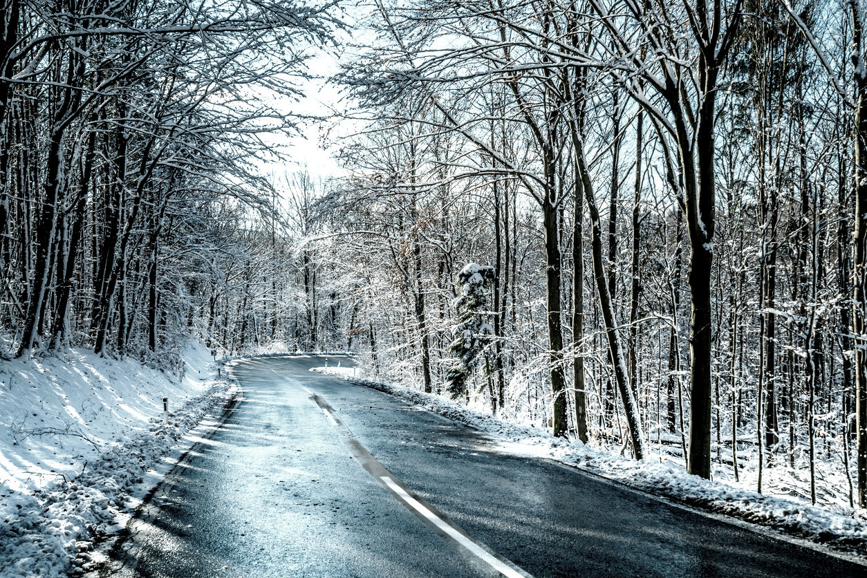 Black ice: avoid a white-knuckle ride with this expert's driving tips