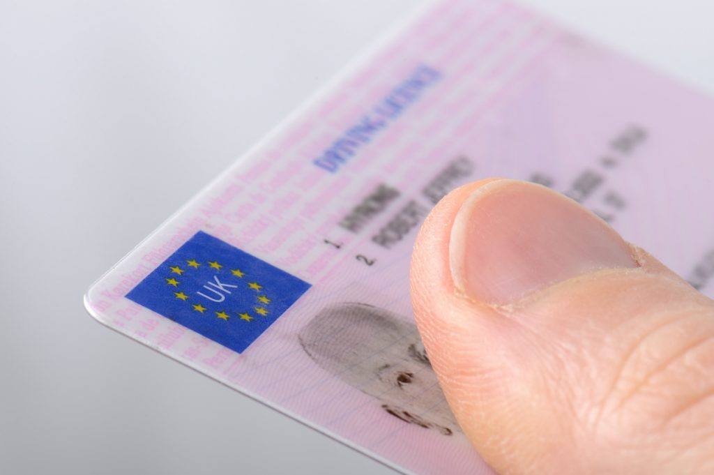 What does the DVLA say about licence theft?