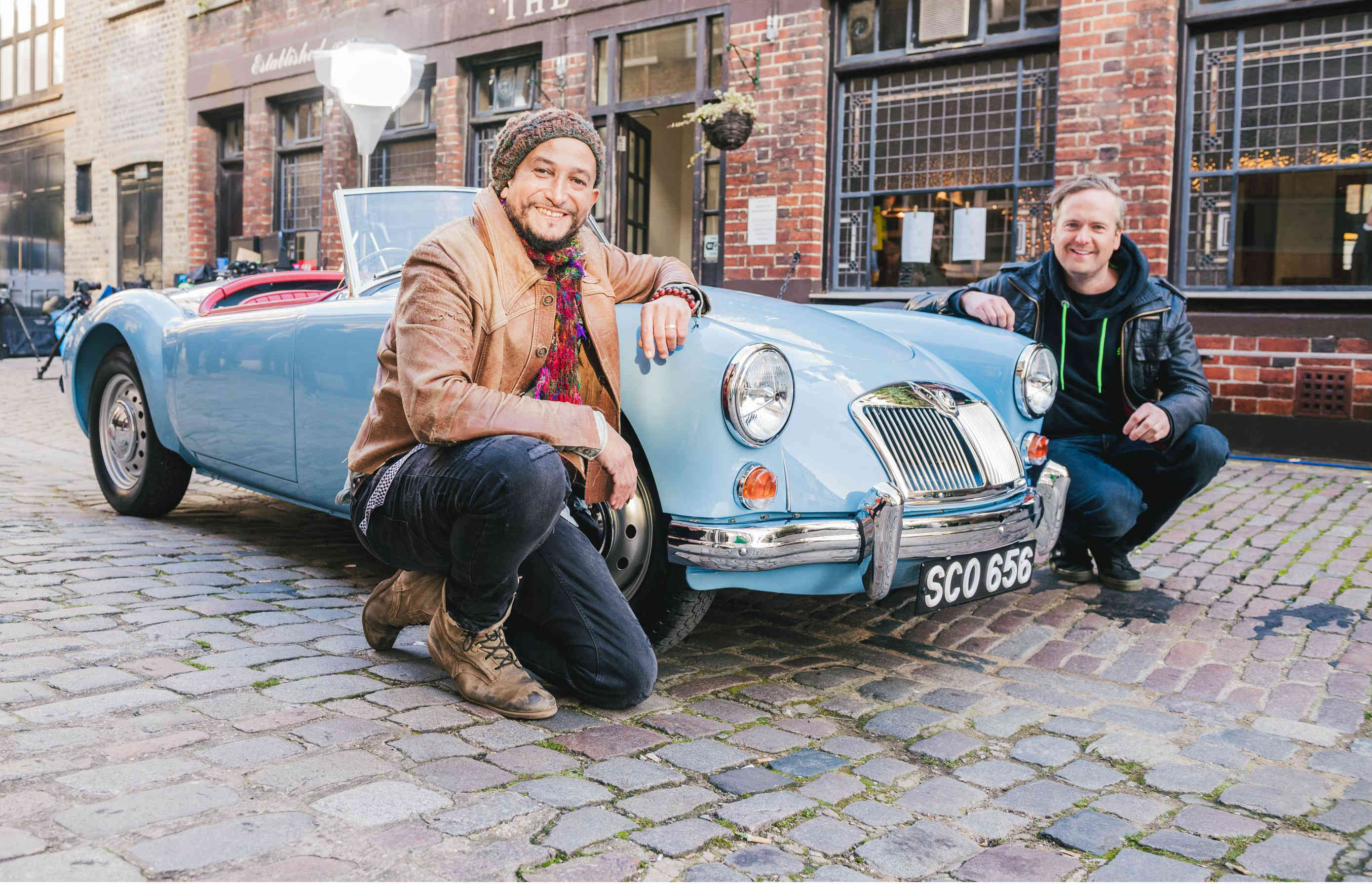 Tim Shaw and Fuzz Townshend from Car SOS will be at 2018 London Motor Show