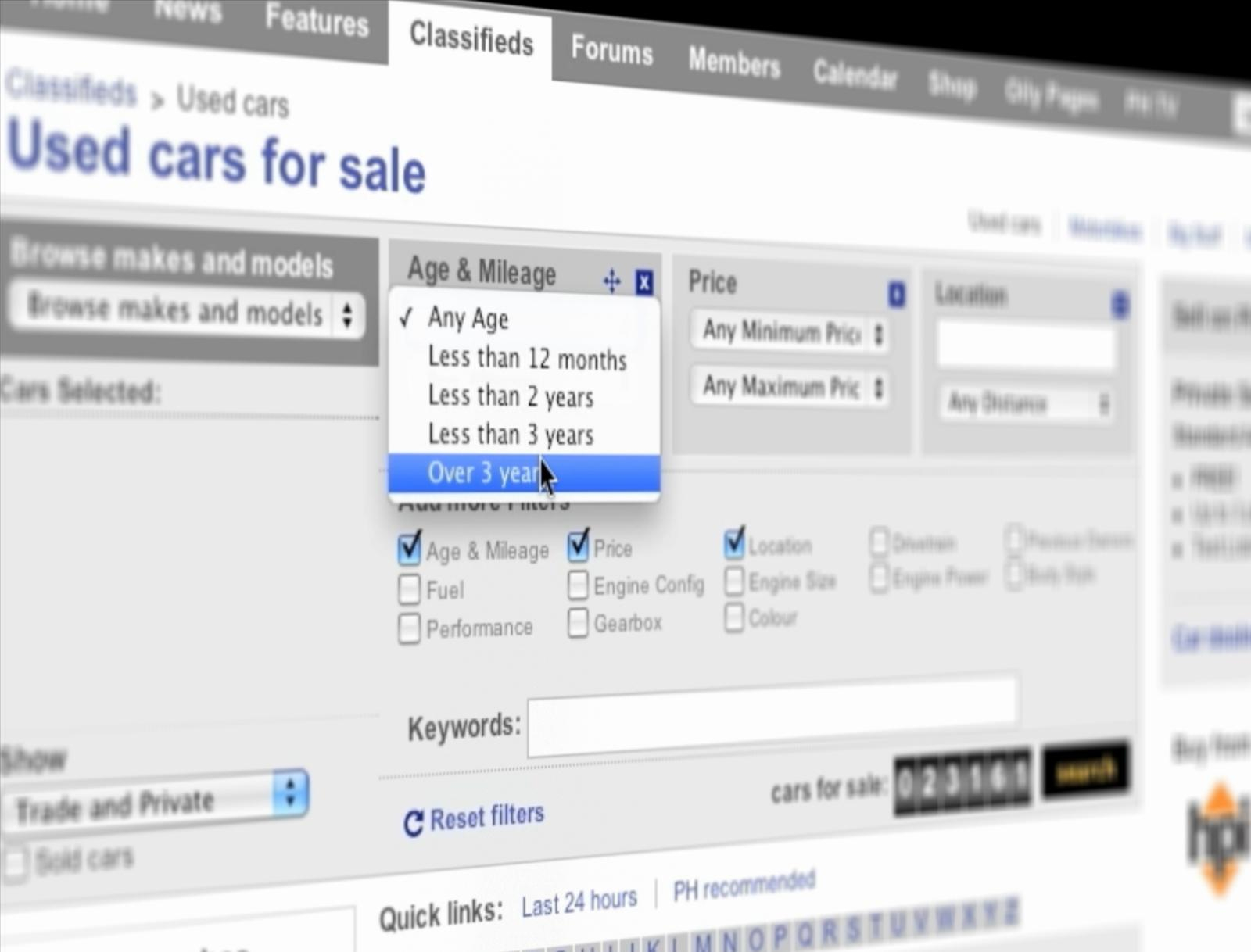 Essential research when buying a used car