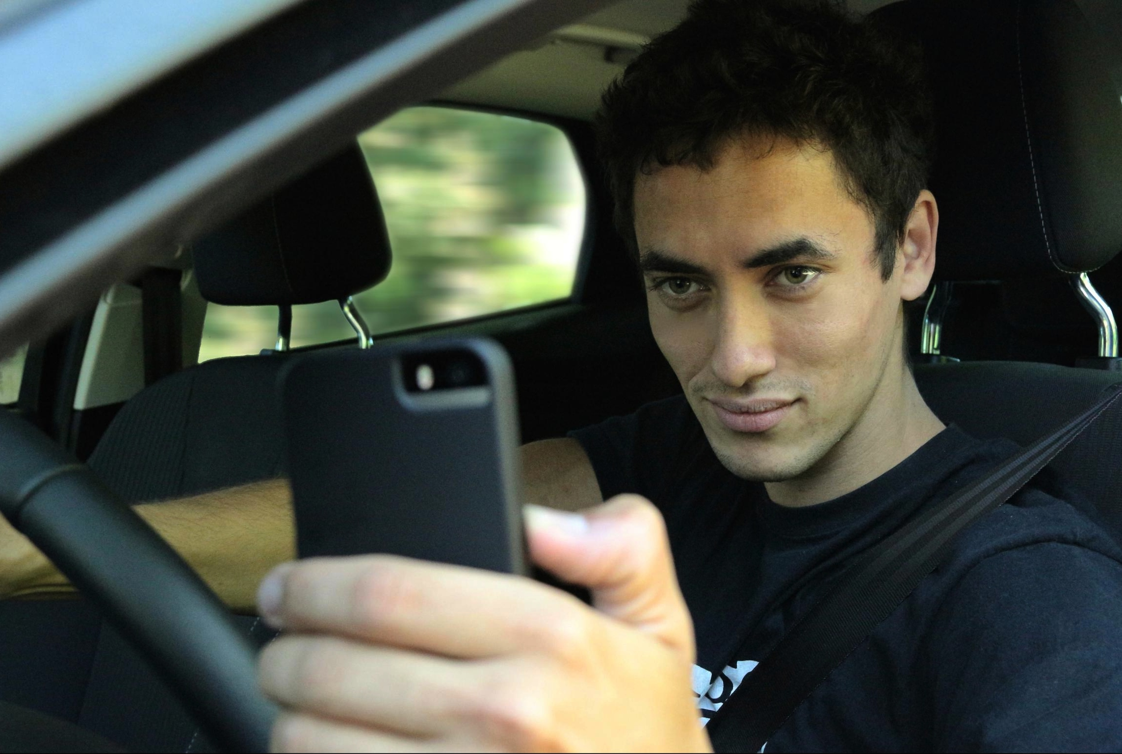 Don't use your smart phone when driving