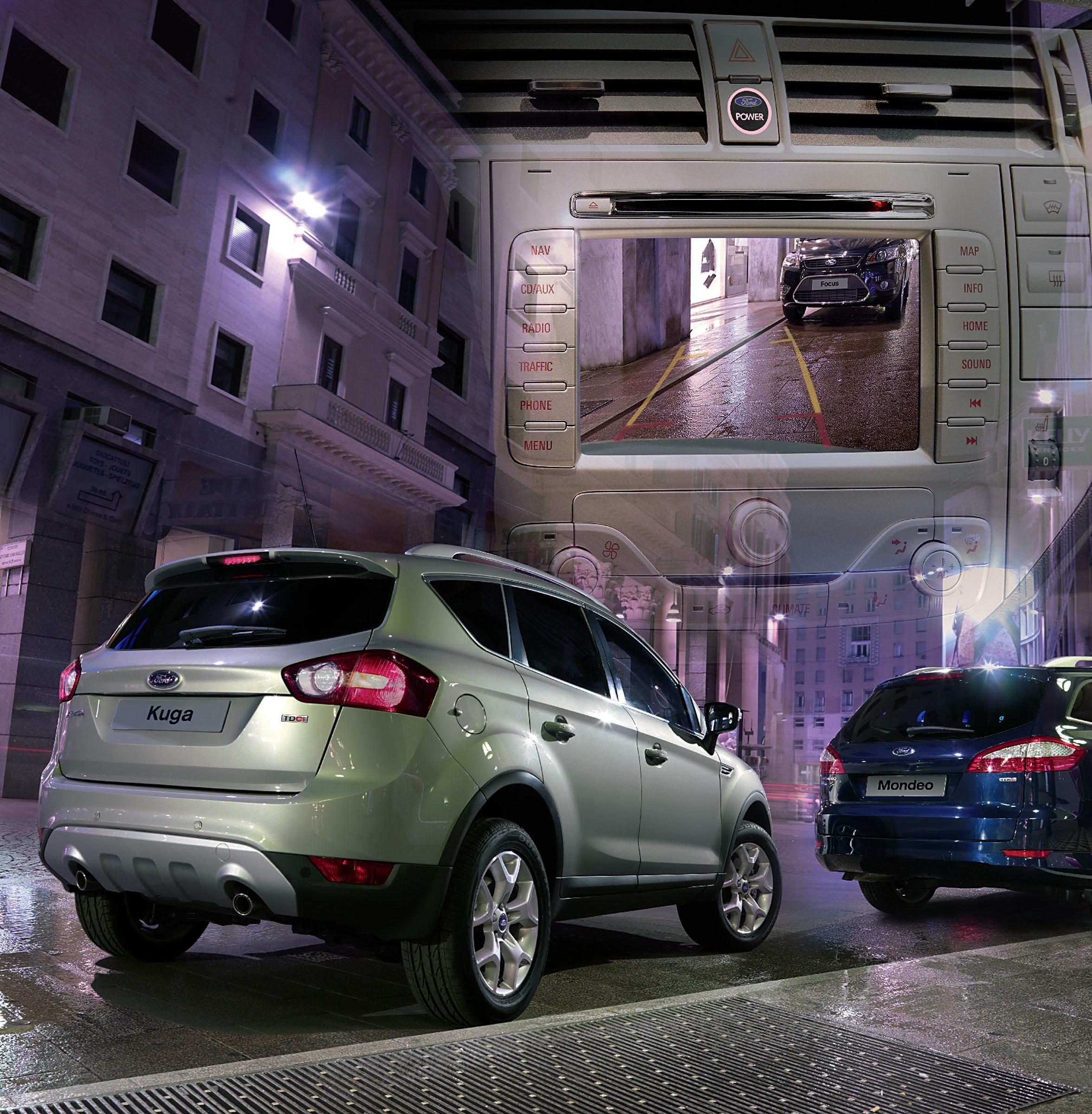 Ford Kuga rear-view parking camera