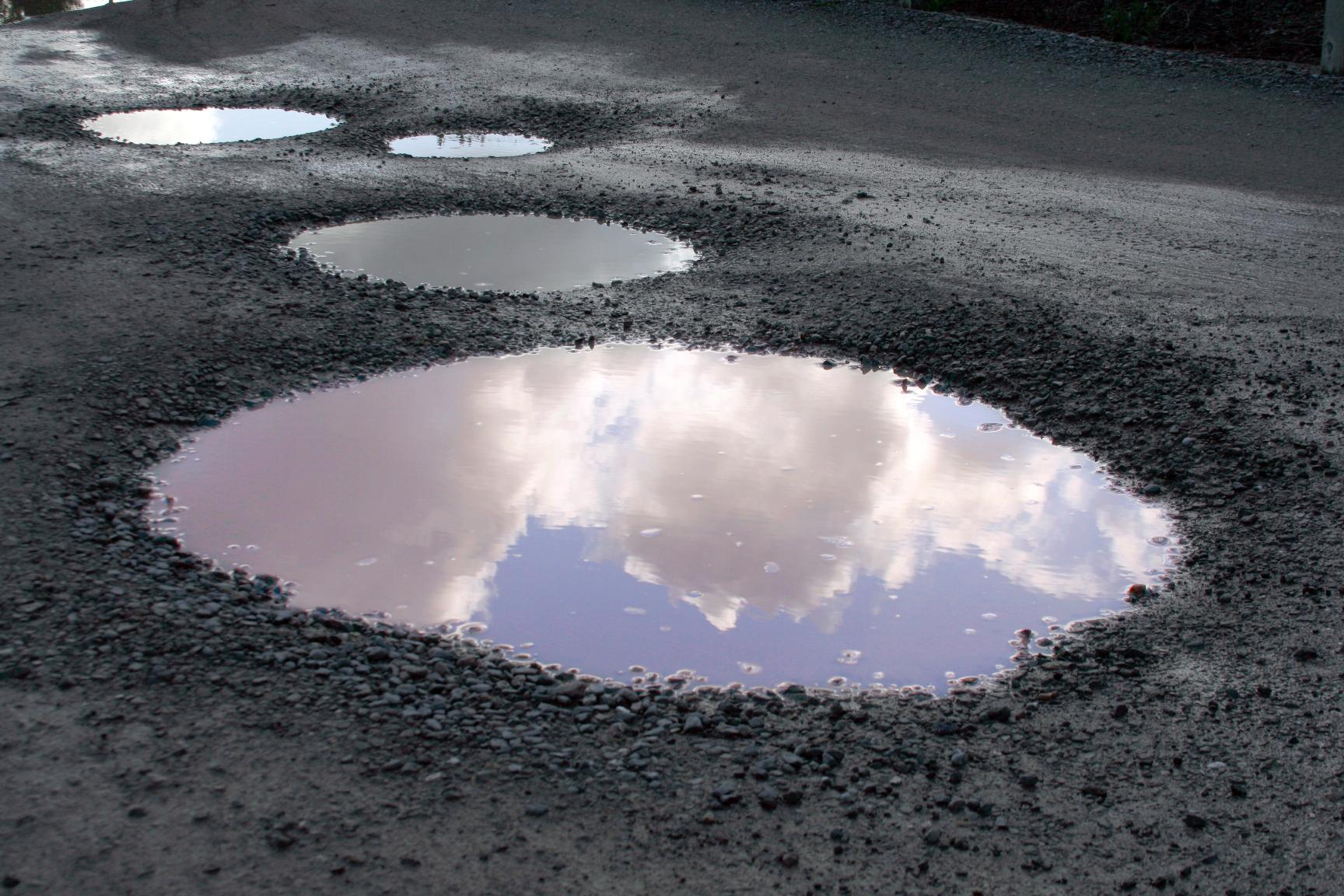 Pothole plague