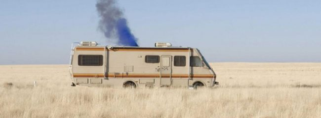 In Breaking Bad, what do they call the RV they use?