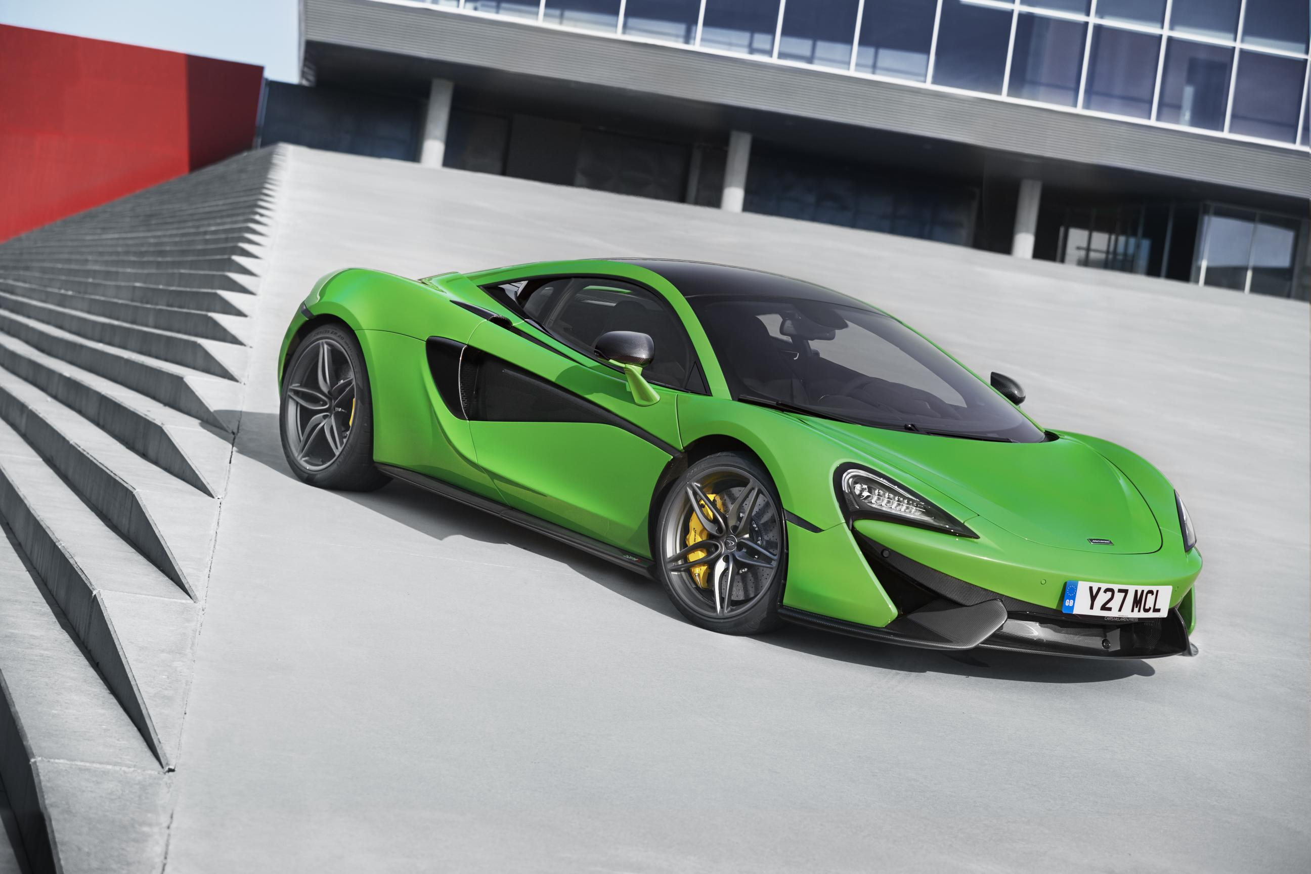 Where does McLaren build its British sports cars?