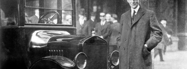What did Henry Ford revolutionise?