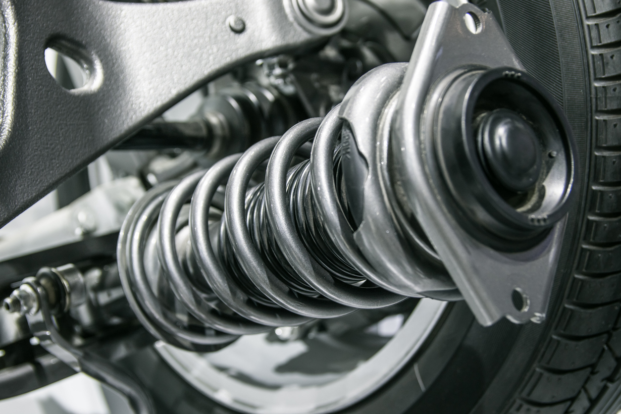 How to spot the warning signs of the five most common faults in new cars: suspension system