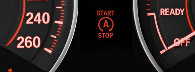 What does a car's stop-start system help with?