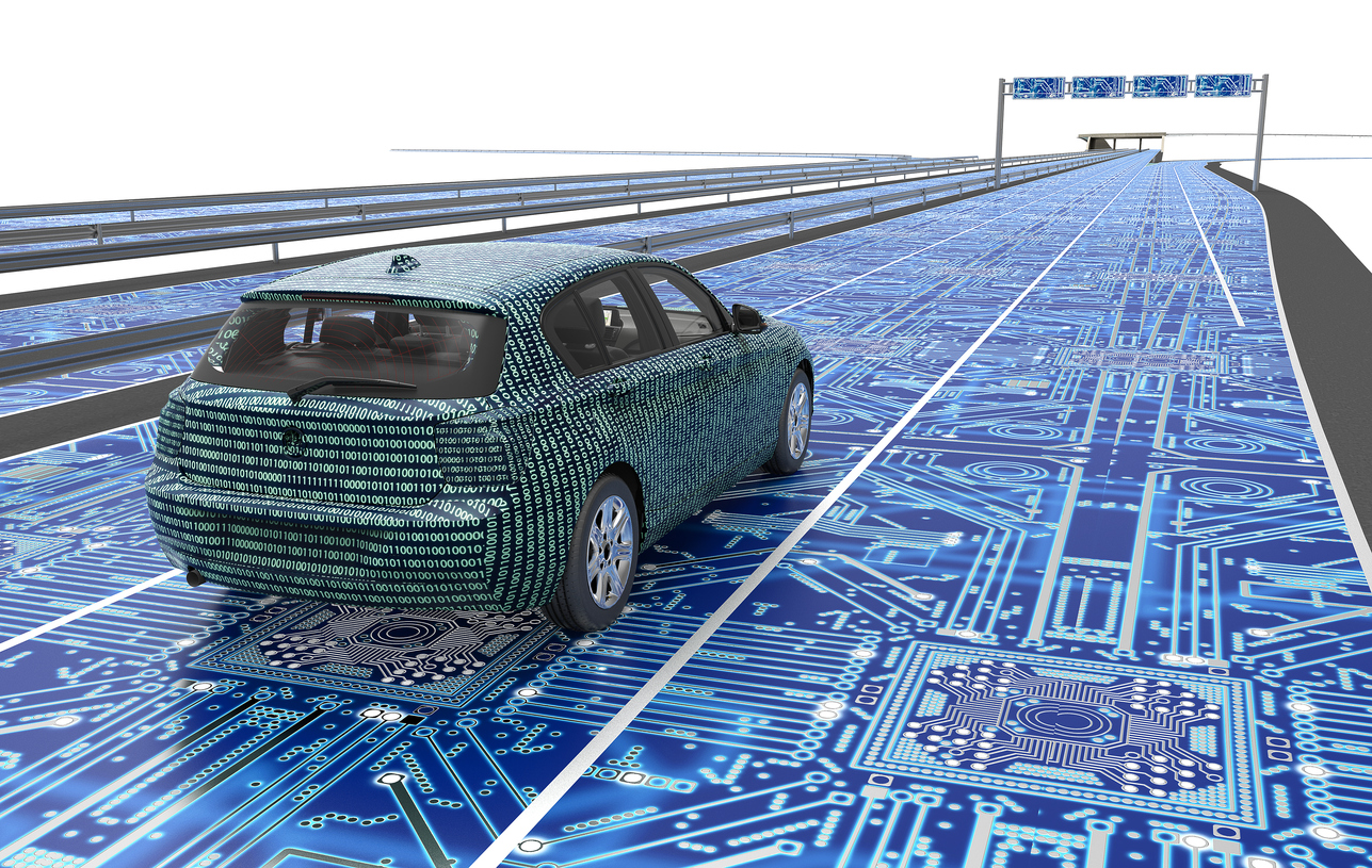 Smart pavement idea for cities adapts roads for pedestrians, cyclists and driverless cars