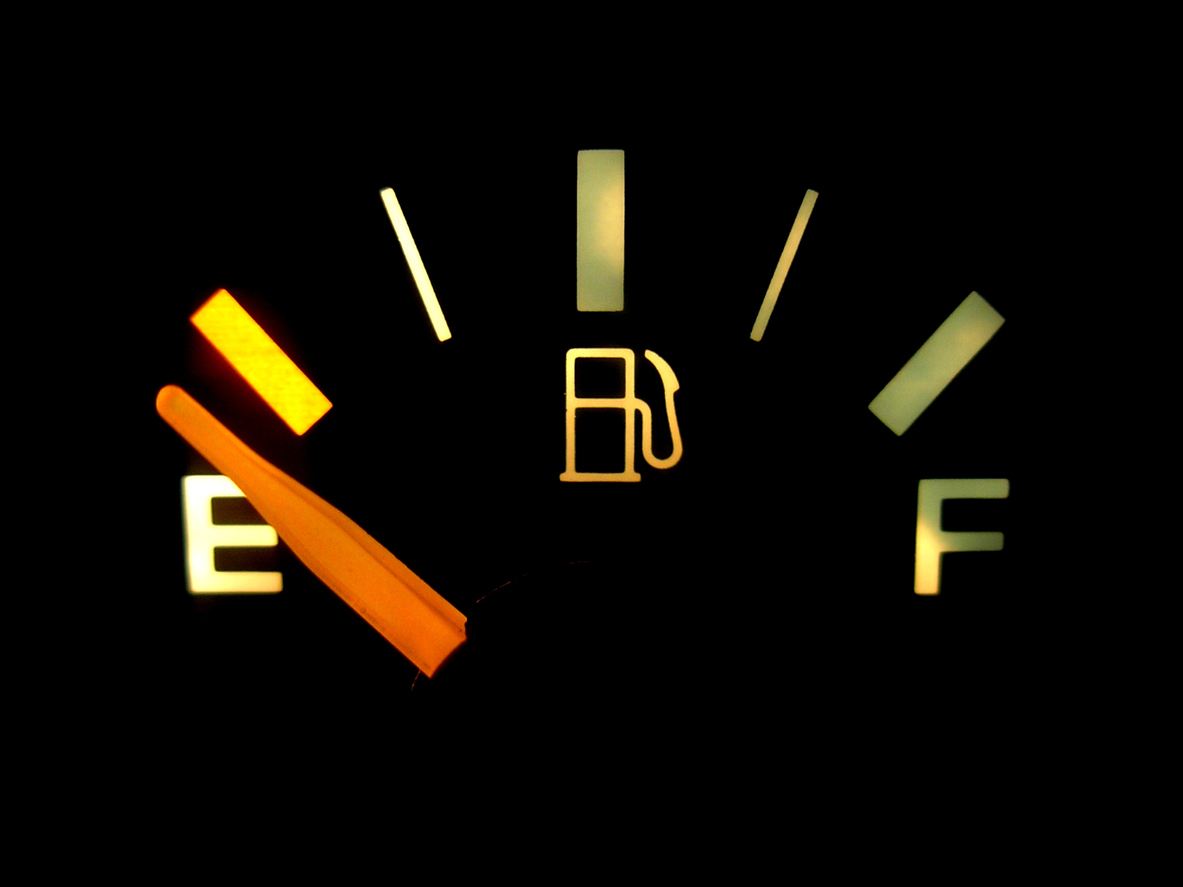 Running out of fuel