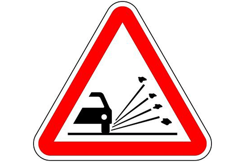 european traffic sign