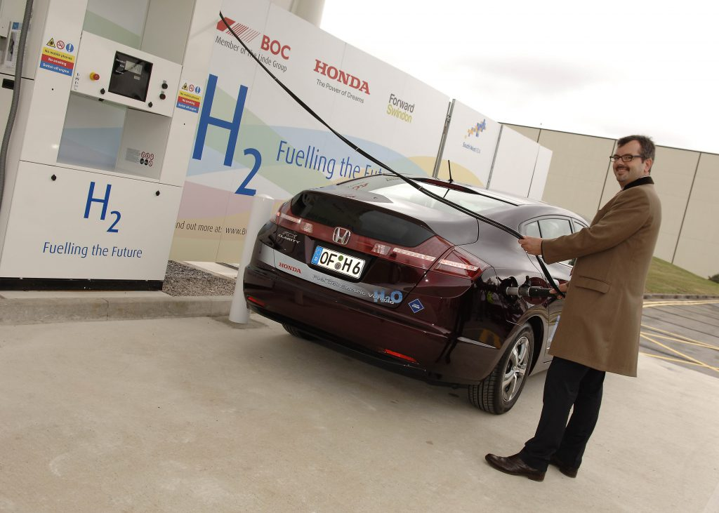 hydrogen fuel cell car